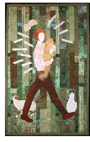 Jane Butler - art quilt