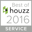 Houzz Best of Service logo